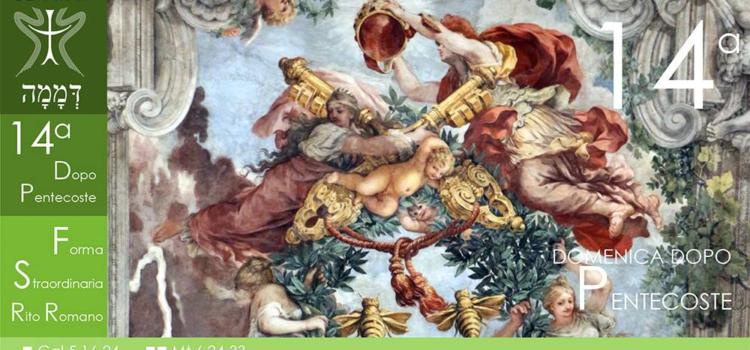 15 Settembre '19 – XIV Domenica dopo Pentecoste