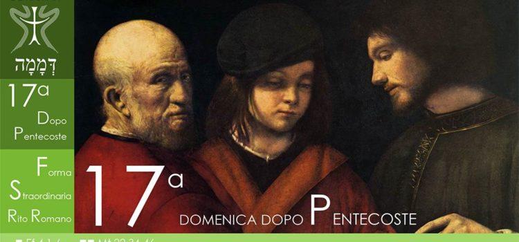 06 Ottobre '19 – XVII Domenica dopo Pentecoste