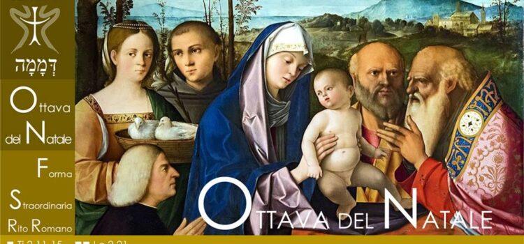 01 Gennaio '21 – Ottava del Natale di Nostro Signore