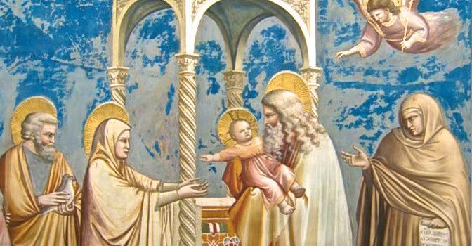 02 Febbraio '21 – Festa della Purificazione della Beata Vergine Maria