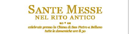 Calendario Sante Messe 2021